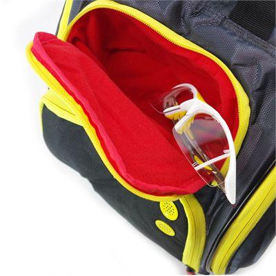 Karakal Pro Tour Comp 9 Racket Bag AW17 - Side - Pocket1