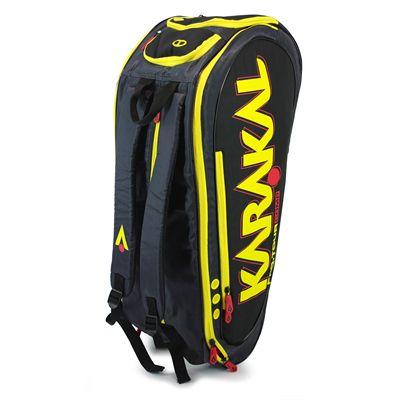 Karakal Pro Tour Comp 9 Racket Bag AW17 - Side - Vertical