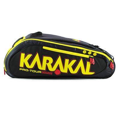 Karakal Pro Tour Comp 9 Racket Bag AW17 - Side