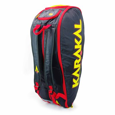 Karakal Pro Tour Comp 9 Racket Bag AW18 - Angled