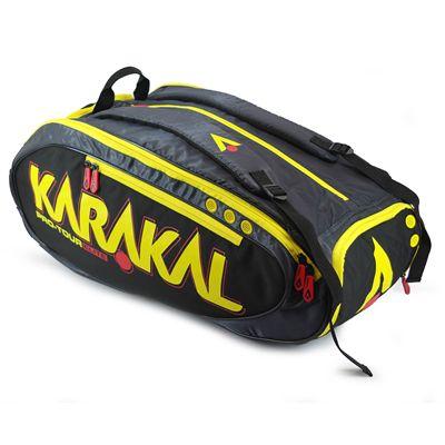 Karakal Pro Tour Elite 12 Racket Bag AW17 - Angled