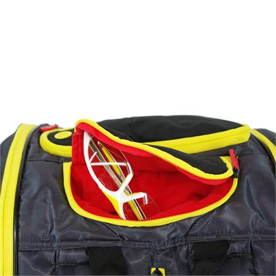 Karakal Pro Tour Elite 12 Racket Bag AW17 - Pocket3