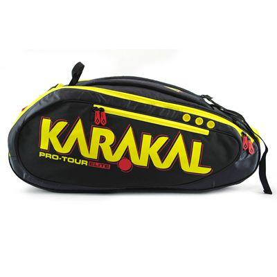 Karakal Pro Tour Elite 12 Racket Bag AW17 - Side