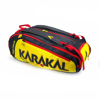 Karakal Pro Tour Elite 12 Racket Bag AW18 - Angle