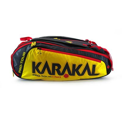 Karakal Pro Tour Elite 12 Racket Bag AW18 - Side