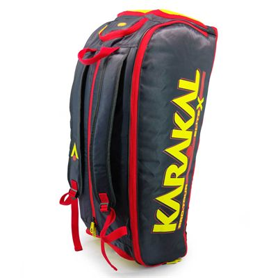 Karakal Pro Tour Elite X Expandable 12 Racket Bag - Side