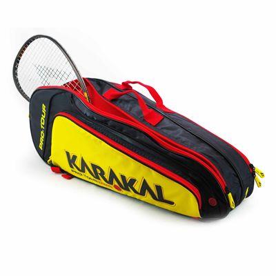 Karakal Pro Tour Match 4 Racket Bag - In Use1