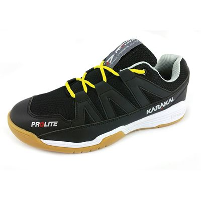 Karakal Prolite Indoor Coourt Shoes - Black