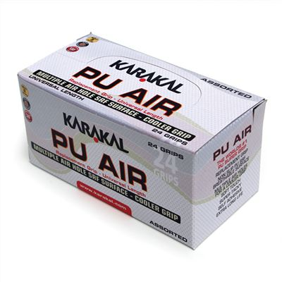 Karakal PU Air Replacement Grip - Box of 24 - Front View