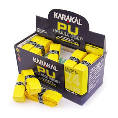 Karakal PU SUPER - Yellow - 24 pack