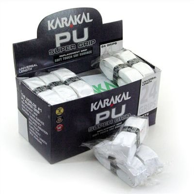 Karakal PU Super Grip - 24 Box - White