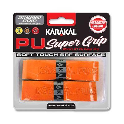 Karakal PU Super Replacement Grip - Orange