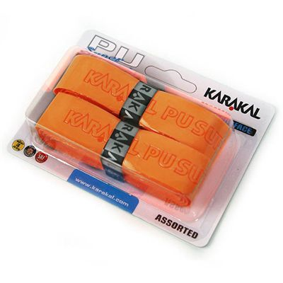 Karakal PU Super Replacement Grip - Orange