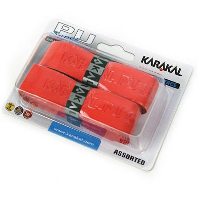 Karakal PU Super Replacement Grip - Red