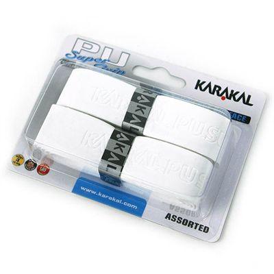 Karakal PU Super Replacement Grip - White