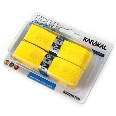 Karakal PU Super Replacement Grip - Yellow