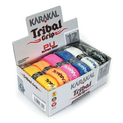 Karakal PU Super Tribal Replacement Grip-12 pack