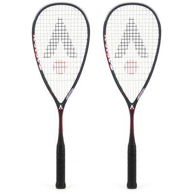 Karakal Raw 110 Squash Racket Double Pack AW18