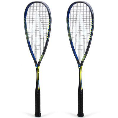 Karakal Raw 120 Squash Racket Double Pack AW19 - Angled