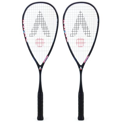 Karakal Raw 130 Squash Racket Double Pack AW18
