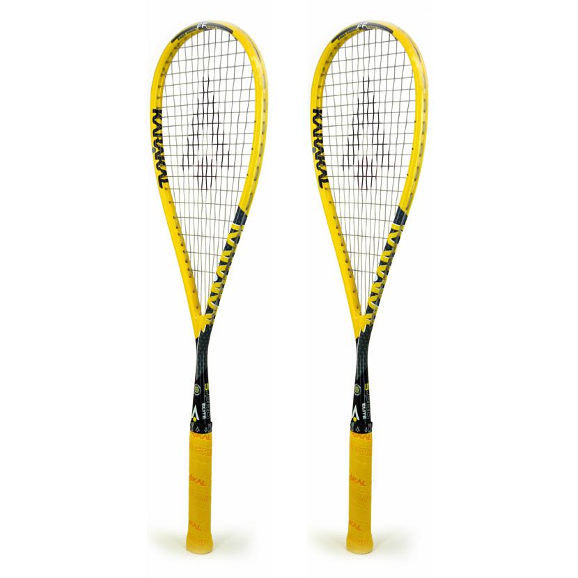 Karakal SPro Elite FF Squash Racket Double Pack