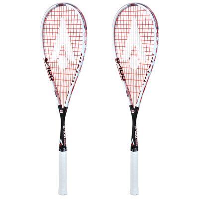 Karakal S 100 FF Squash Racket Double Pack AW19 - Angled