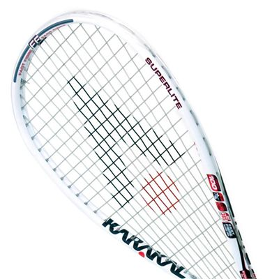 Karakal S 100 FF Squash Racket - Head View