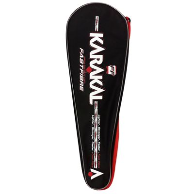 Karakal SN 90 FF Squash Racket Double Pack AW18 - With Cover - Zoom5
