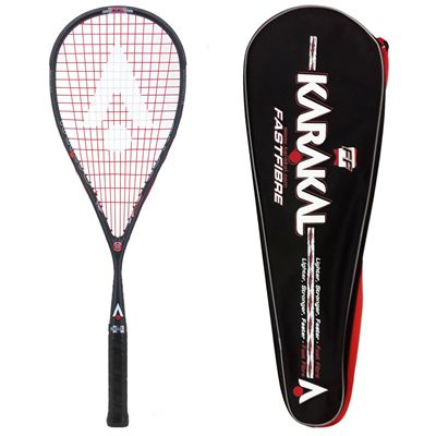 Karakal SN 90 FF Squash Racket Double Pack AW18 - With Cover