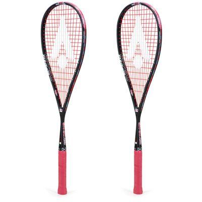 Karakal SN 90 FF Squash Racket Double Pack AW19 - Angle