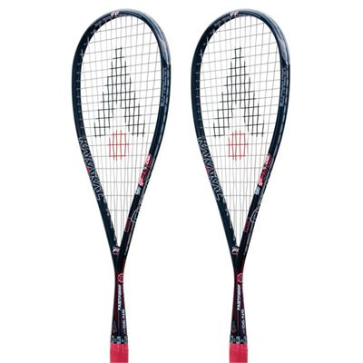 Karakal SN 90 FF Squash Racket Double Pack-Rotated View