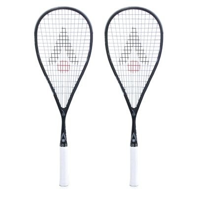 Karakal SN 90 Squash Racket Double Pack - White