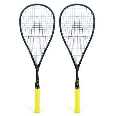Karakal SN 90 Squash Racket Double Pack - Yellow