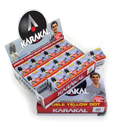 Karakal NRG 12 box - Double Yellow
