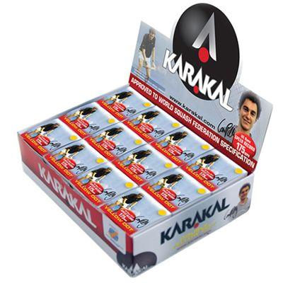Karakal NRG 12 box - Yellow Dot