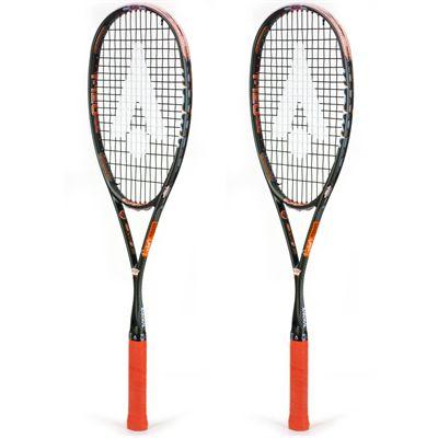 Karakal T 120 FF Squash Racket Double Pack AW19 - Angled