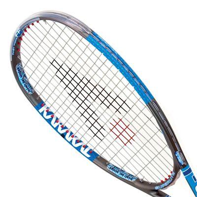 Karakal T EDGE FF Squash Racket - Head View