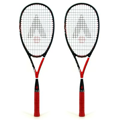 Karakal Tec Gel 120 Squash Racket Double Pack 2014