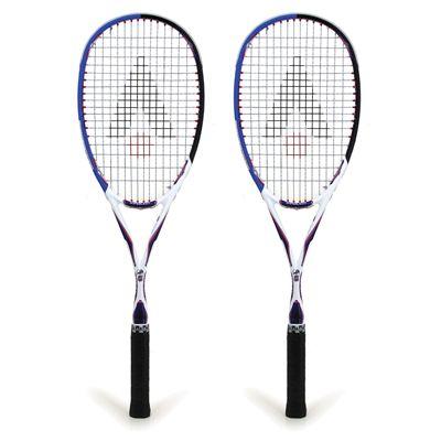 Karakal Tec Lite 130 Squash Racket Double Pack