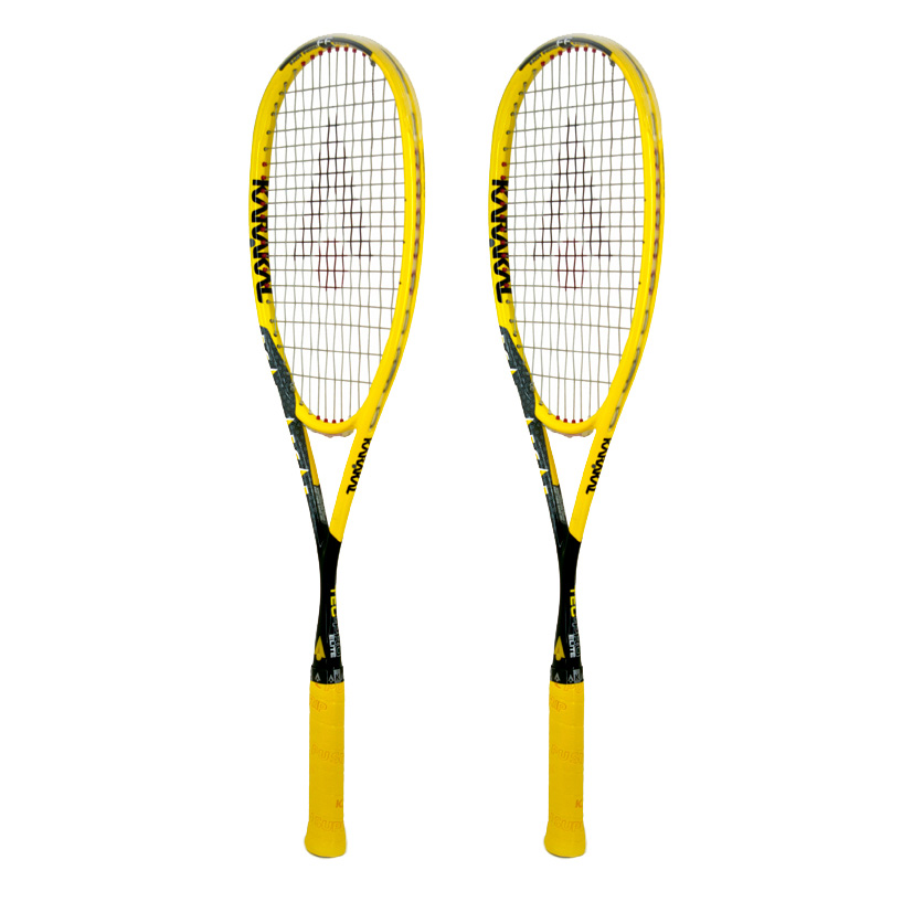 Karakal Tec Pro Elite FF Squash Racket Double Pack