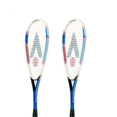 Karakal Titanium Pro Hybrid Squash Racket Double Pack
