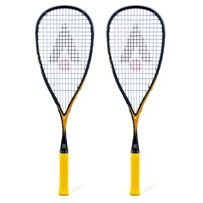 Karakal V-GR 150 Squash Racket Double Pack 2014