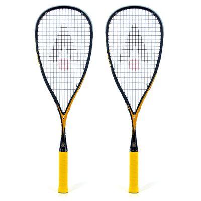 Karakal V-GR 150 Squash Racket Double Pack 2014