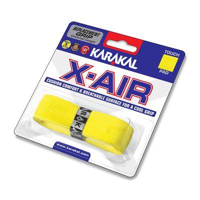 Karakal X-Air Replacement Grip - Yellow - Angle