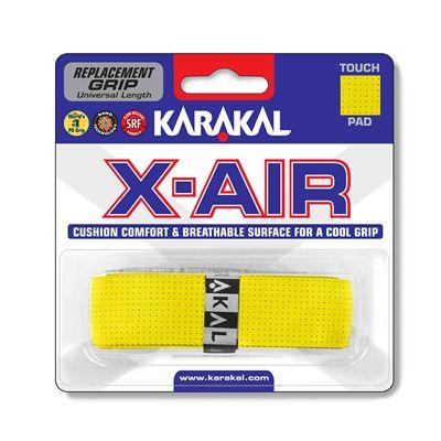 Karakal X-Air Replacement Grip - Yellow