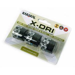 Karakal X-Dri Overwrap Grip - Pack of 3