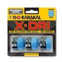 Karakal X-Dri Overwrap Grip - Pack of 3 - Blue