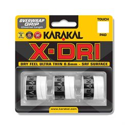 Karakal X-Dri Overwrap Grip - Pack of 3