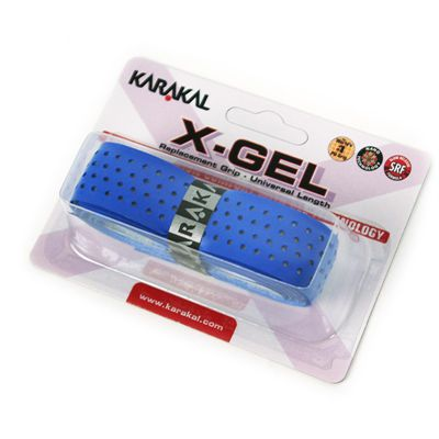 Karakal X-Gel Replacement Grip-Blue