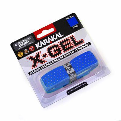 Karakal X-Gel Replacement Grip - Blue - Angle